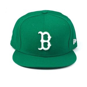New Era 59Fifty MLB Boston Red Sox Kelly Green Hat